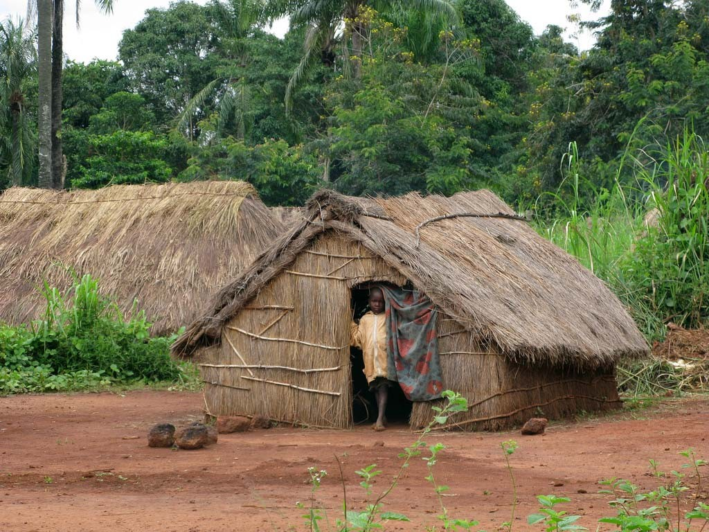 central african republic - africa vernacular architecture
