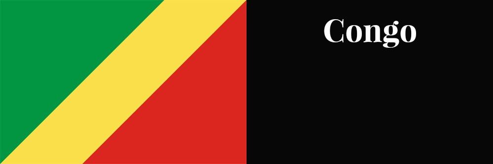 Congo flag banner1