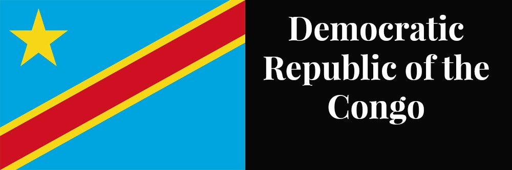Democratic Republic of the Congo flag banner1