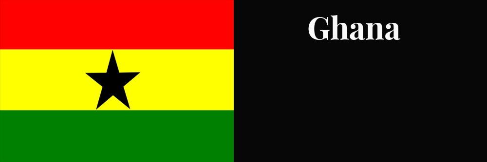 Ghana flag banner1