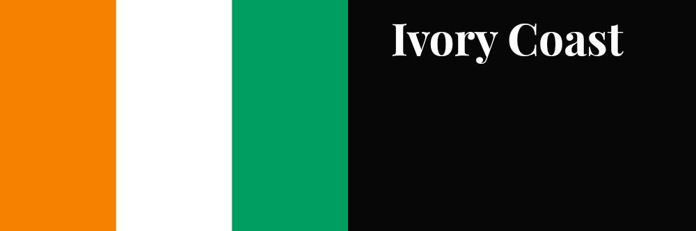 Ivory Coast flag banner1