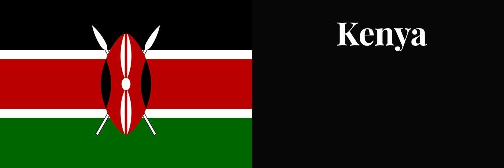 Kenya flag banner1