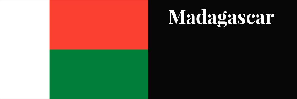 Madagascar flag banner1