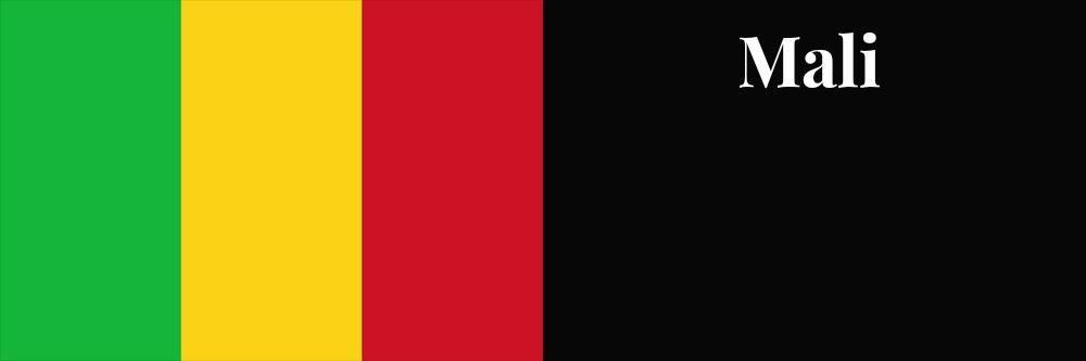 Mali flag banner1