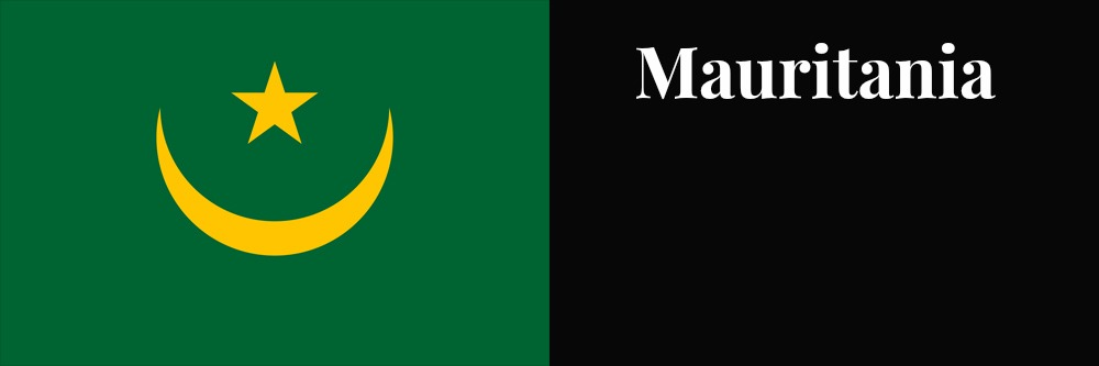 Mauritania flag banner1