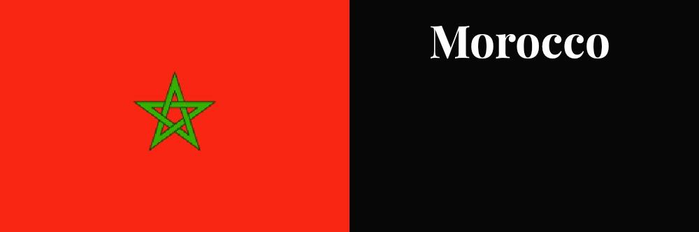 Morocco flag banner1