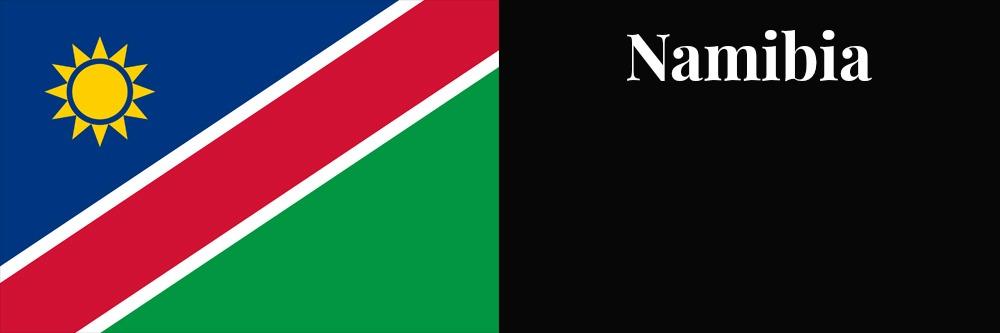 Namibia flag banner1