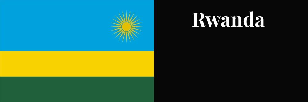 Rwanda flag banner1