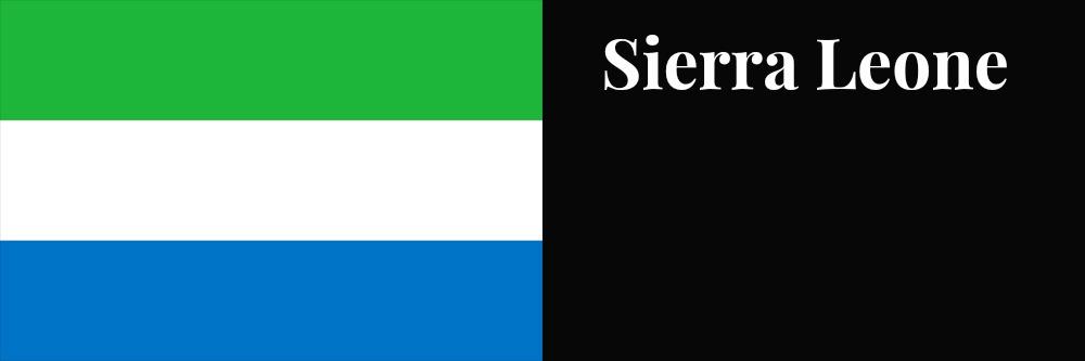 Sierra Leone flag banner1
