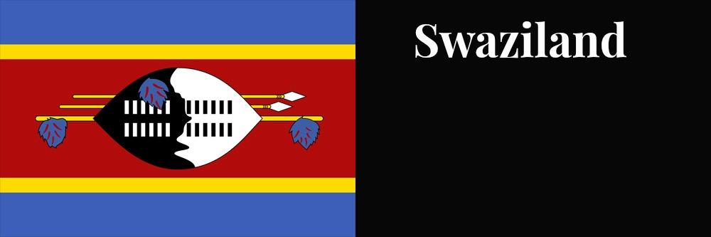 Swaziland flag banner1