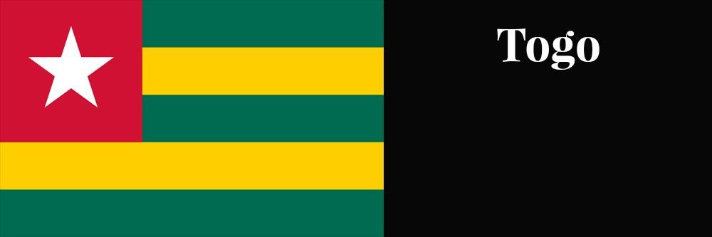 Togo flag banner1