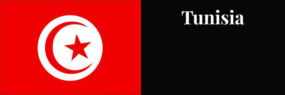 Tunisia flag banner1