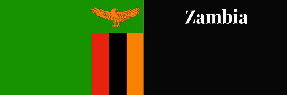 Zambia flag banner1