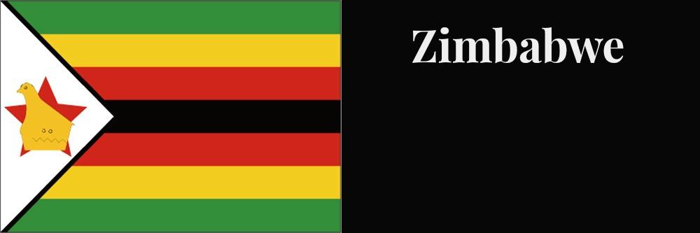 Zimbabwe flag banner1