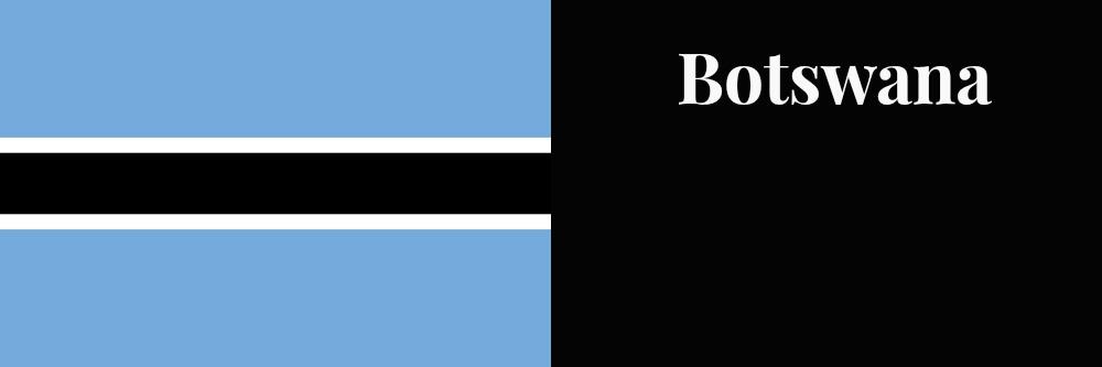 botswana flag banner1