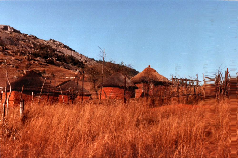 Swaziland Africa Vernacular Architecture